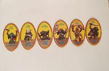 Fuera de imprenta advanced heroquest completo conjunto de 6 muñecos de carácter brotes de patata Hero Quest Amarillo