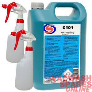 AUTOSMART G101 ALL MULTI PURPOSE CLEANER 5 LITRE - NON-CAUSTIC CLEANER - TRADE