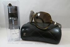 Chanel 5141-H c.1101/3B Collection Perle New Authentic Sunglasses 61mm w/Case