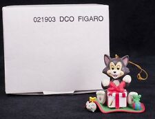 Grolier Disney Pinocchio Figaro Geppetto Cat Christmas Ornament 021903