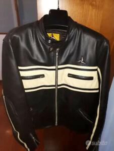Giacca giubbotto da moto motociclista in vera pelle Star Bikers Jacket (SBJ)