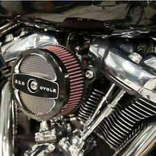 S&S Stealth Stage 1 Air Cleaner Kit w/ Air 1 One Cover 17-19 Harley M8 Touring