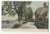 Ibsley Bridge New Forest Hampshire 537 FGO Stuart 17 May 1905 Postcard 330c