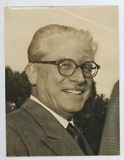 Italia, Giovanni Gronchi, 3º Presidente della Repubblica Italiana Vintage silver
