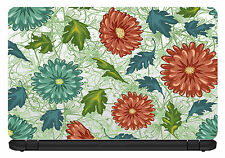 15.6 inch Artistic/Floral-Laptop Vinyl Skin/Decal/Sticker/Cover -LP13