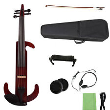 5 string electric violin Silent Small Jack 4/4 Free Case Bow Yinfente Brand