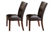 Steve Silver Montibello Parsons Dining Chair, Set of 2 MN500S New