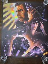 Blade Runner Foil Variant Art Print By John Alvin - Pp - Screen Poster
