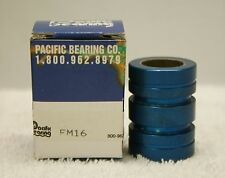 Pacific Bearing FM16 Bearing *NEW in Box*
