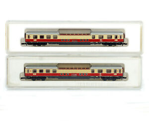 ONE MARKLIN MINI-CLUB 8728 Z GAUGE DB Cab Tea Overview/Panoramic Tea Carriage