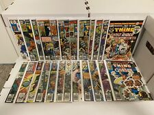Marvel Two-in-One LOT #8-60 FN/VF+ 24 total Marvel Comics 1975 16 53 55 58 MORE!