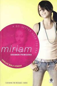 MIRIAM - A GO-GETTER GOES TOO FAR - TRUE LIFE BIBLE STUDIES - PRIMICERIO -AS NEW