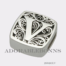 for Va Va Voom! Slide Charm 29920Xv Authentic Lori Bonn Bonn Bons Silver V is