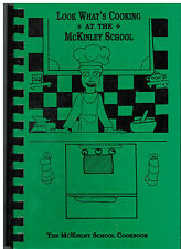 *REVERE MA 1997 LOOK WHAT'S COOKING AT McKINLEY SCHOOL COOK BOOK *MASSACHUSETTS