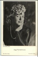 ~ 1950/60 Porträt-AK Film Bühne Theater Schauspielerin OLGA TSCHECHOWA Foto-Binz