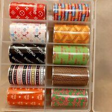 Foil Nail Art Transfer Sticker Decoration Sport Summer Nails Set 10 Pieces Gi