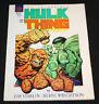 1987 Marvel Graphic Novel Incredible Hulk and the Thing SC Jim Starlin VF-