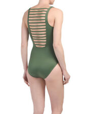 NEW MAGICSUIT 14 MIRACLESUIT SWIMSUIT Steffi One-Piece Solid Olive Green