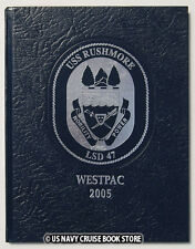 USS RUSHMORE LSD-47 2004-2005 WESTPAC CRUISE BOOK