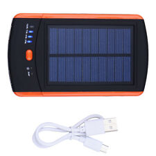 6000mAh Capacity USB Solar Power Battery Fast Charger for iPhone Samsung Phone