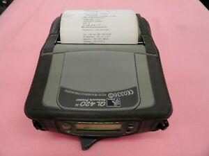 Zebra QL420-N mobile network printer Q4B-LUCAV010-Z0