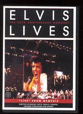 ELIVS VIVE the 25th aniversario concierto Memphis DVD todos los zonas