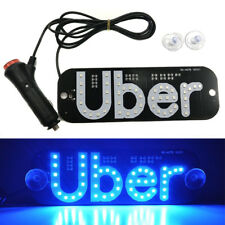 for Uber Car Taxi Led Light Cab Indicator Lamp Logo Windshield Panel Sign Lights