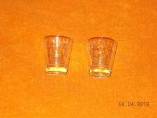 Shot Glass - Calvert - Lot of 2 different