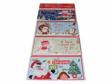 4 PACK CHRISTMAS MONEY WALLETS (CARDS & ENVELOPES) IDEAL FOR CASH OR VOUCHERS