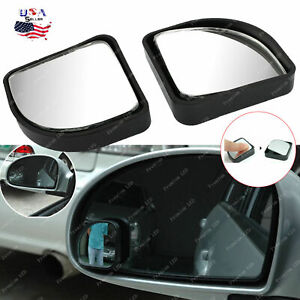 Fan-shaped Auxiliary Blind Spot Convex Rear View Adjustable Angle Mirror SUV Car