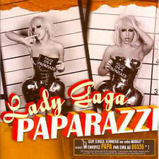 CD Single Lady GAGA Paparazzi CARD SLEEVE 4-track NEW SEALED RARE FRANCE !
