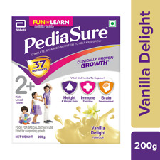 Abbott Pediasure Vanilla Complete & Balanced Nutrition Health Drink 200gm BesT !