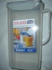 FRIDGE DOOR Water Bottle/JUG, FLIP TOP LID WITH SPOUT. plastic HPL733 BPA FREE