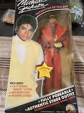 Michael Jackson 1984 Thriller doll  in original packaging.
