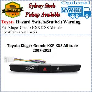 Hazard Light Button Switch Fits Toyota Kluger Grande KXR KXS Altitude 2007-2013
