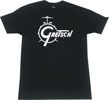 Gretsch CLASSIC Drum Set Logo Men's Shirt PICK SIZE Officially Licensed