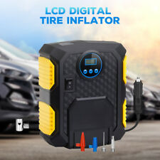 DC 12V LCD Digital Tire Inflator Car Air Pump 150 PSI Compressor with LED Light