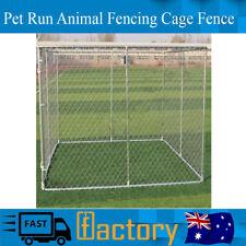 Pet Enclosure Run Animal Fencing Fence Playpen Dog Kennel Run 4m x 2.3m x 1.83m