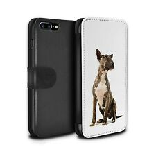 STUFF4 PU Leather Case/Cover/Wallet for Apple iPhone 7 Plus/Dog Breeds