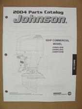 2004 Omc Johnson Sr 50 Hp Commercial Outboard Motor Engine Parts Catalog 5005680