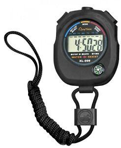 Wonday Stoppuhr Sport-Uhr Multifunktion Digital Stoppuhr Taschenuhr Wasserfest