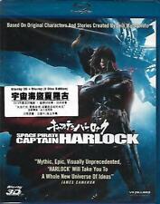 Space Pirate Captain Harlock Blu Ray Japanese Aramaki Shinji NEW 2-Disc 3D