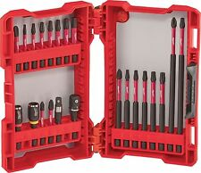 MILWAUKEE 22pc Shockwave Automotive Impact driver Bit Set W/Adapters 48-32-4016