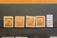 LOT STAMPS OLD PARAGUAY ERROR VARIETY MH*+USED (F111083)