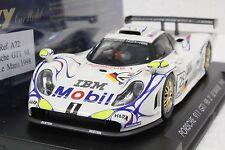 FLY A72 PORSCHE 911 GT1 '98 2° LE MANS #25 NEW 1/32 IN DISPLAY CASE *RARE*