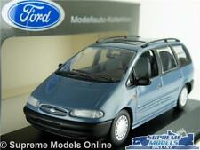FORD GALAXY MODEL CAR 1:43 SIZE BLUE MINICHAMPS 4 DOOR K8