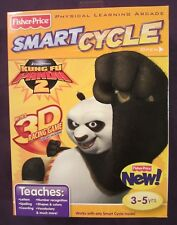 Brand NEW Factory Sealed Kung Fu Panda 2 Smart Cycle Game Cartridge & Booklet