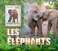 Togo - 2019 Elephants on Stamps - Stamp Souvenir Sheet - TG190209b