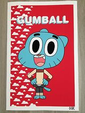 "The Amazing World of Gumball  24"" x 36"" poster print"