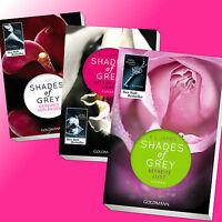 im Set: SHADES OF GREY 1-3 | E. L. JAMES | Band 1 + 2 + 3 | Fifty Shades (Buch)